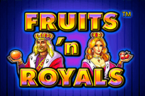 Игровой аппарат Fruits and Royals в клубе Вулкан